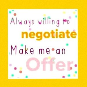 Don't be shy.....make me an offer